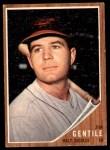 1962 Topps #290  Jim Gentile  Front Thumbnail