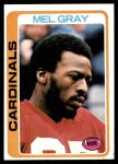 1978 Topps #486  Mel Gray  Front Thumbnail