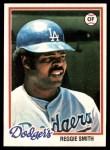 1978 Topps #168  Reggie Smith  Front Thumbnail