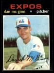 1971 Topps #21   -  Dan McGinn    Front Thumbnail