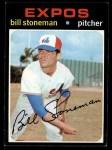1971 Topps #266  Bill Stoneman  Front Thumbnail