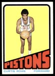 1972 Topps #24  Curtis Rowe   Front Thumbnail