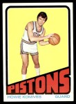 1972 Topps #13  Howie Komives   Front Thumbnail