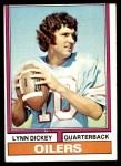 1974 Topps #252  Lynn Dickey  Front Thumbnail