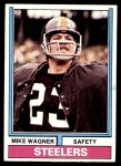 1974 Topps #273  Mike Wagner  Front Thumbnail
