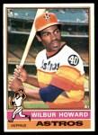 1976 Topps #97  Wilbur Howard  Front Thumbnail