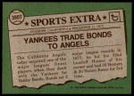 1976 Topps Traded #380 T Bobby Bonds  Back Thumbnail