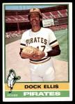 1976 Topps #528  Dock Ellis  Front Thumbnail