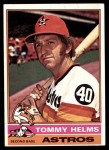 1976 Topps #583  Tommy Helms  Front Thumbnail
