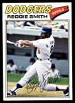 1977 Topps #345  Reggie Smith  Front Thumbnail