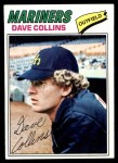 1977 Topps #431  Dave Collins  Front Thumbnail