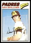 1977 Topps #182  Dan Spillner  Front Thumbnail