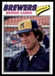 1977 Topps #159  Bernie Carbo  Front Thumbnail