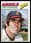 1977 Topps #454  Andy Etchebarren  Front Thumbnail