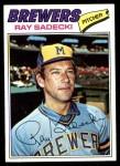 1977 Topps #26  Ray Sadecki  Front Thumbnail