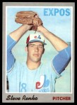 1970 Topps #87  Steve Renko  Front Thumbnail