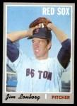 1970 Topps #665  Jim Lonborg  Front Thumbnail