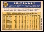 1970 Topps #690  Ron Fairly  Back Thumbnail