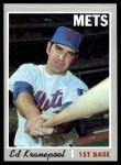 1970 Topps #557  Ed Kranepool  Front Thumbnail