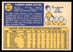 1970 Topps #604  Cito Gaston  Back Thumbnail