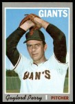 1970 Topps #560  Gaylord Perry  Front Thumbnail