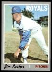 1970 Topps #222  Jim Rooker  Front Thumbnail