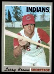1970 Topps #391  Larry Brown  Front Thumbnail