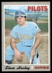 1970 Topps #514  Steve Hovley  Front Thumbnail