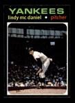 1971 Topps #303  Lindy McDaniel  Front Thumbnail
