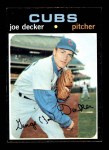 1971 Topps #98  Joe Decker  Front Thumbnail