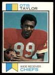 1973 Topps #310  Otis Taylor  Front Thumbnail