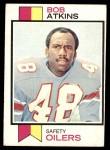1973 Topps #18  Bob Atkins  Front Thumbnail
