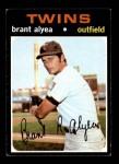 1971 Topps #449  Brant Alyea  Front Thumbnail