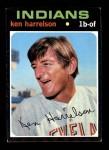 1971 Topps #510  Ken Harrelson  Front Thumbnail