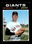 1971 Topps #621  Ron Bryant  Front Thumbnail