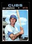 1971 Topps #90  Joe Pepitone  Front Thumbnail