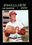1971 Topps #574  Jim Bunning  Front Thumbnail
