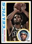 1978 Topps #109  Sidney Wicks  Front Thumbnail