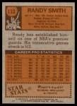 1978 Topps #112  Randy Smith  Back Thumbnail