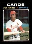 1971 Topps #702  Milt Ramirez  Front Thumbnail