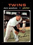 1971 Topps #586  Dick Woodson  Front Thumbnail