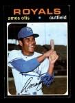 1971 Topps #610  Amos Otis  Front Thumbnail