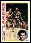 1978 Topps #24  Lou Hudson  Front Thumbnail