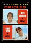 1971 Topps #362   -  Mike Adamson / Roger Freed Orioles Rookies Front Thumbnail