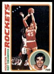 1978 Topps #58  Rudy Tomjanovich  Front Thumbnail