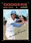 1971 Topps #585  Willie Davis  Front Thumbnail