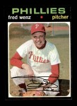 1971 Topps #92  Fred Wenz  Front Thumbnail