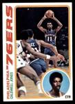 1978 Topps #103  Caldwell Jones  Front Thumbnail