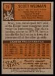 1978 Topps #79  Scott Wedman  Back Thumbnail