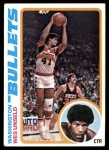 1978 Topps #7  Wes Unseld  Front Thumbnail